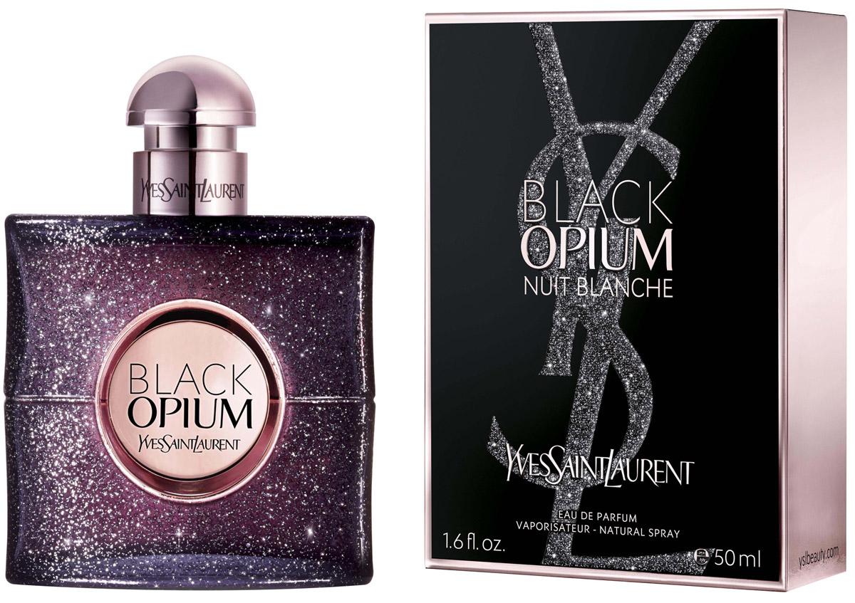 Yves Saint Laurent Opium Black Nuit Blanche парфюмерная вода женская, 50 млSC-FM20104Black Opium Nuit Blanche – роскошный, таинственный и увлекательный женский восточно-пряный аромат, выпущенный в самом начале 2016 года знаменитым модным домом Yves Saint Laurent. Ароматическая композиция вдохновлена ночной жизнью Парижа – города, который никогда не спит, его волшебными, словно наэлектризованными ночами, во время которых могут происходить самые удивительные, загадочные и даже фантастические события.Верхний аккорд композиции начинает звучание с нежного, тонкого запаха риса с вкрадчивым, бархатистым эффектом, который смешивается с энергичными, провокационными пряными нотками перца бурбон. Сердце аромата покоряет глубоким и многогранным горьковатым ароматом черного кофе в утонченном сиянии пряно-медового запаха апельсинового цвета.Завершает звучание парфюма нежнейший, искусительный ароматический шлейф, сотканный из бархатисто-сливочного сандала, восхитительной сладости ванили и шелковистого, волнующего мускуса.