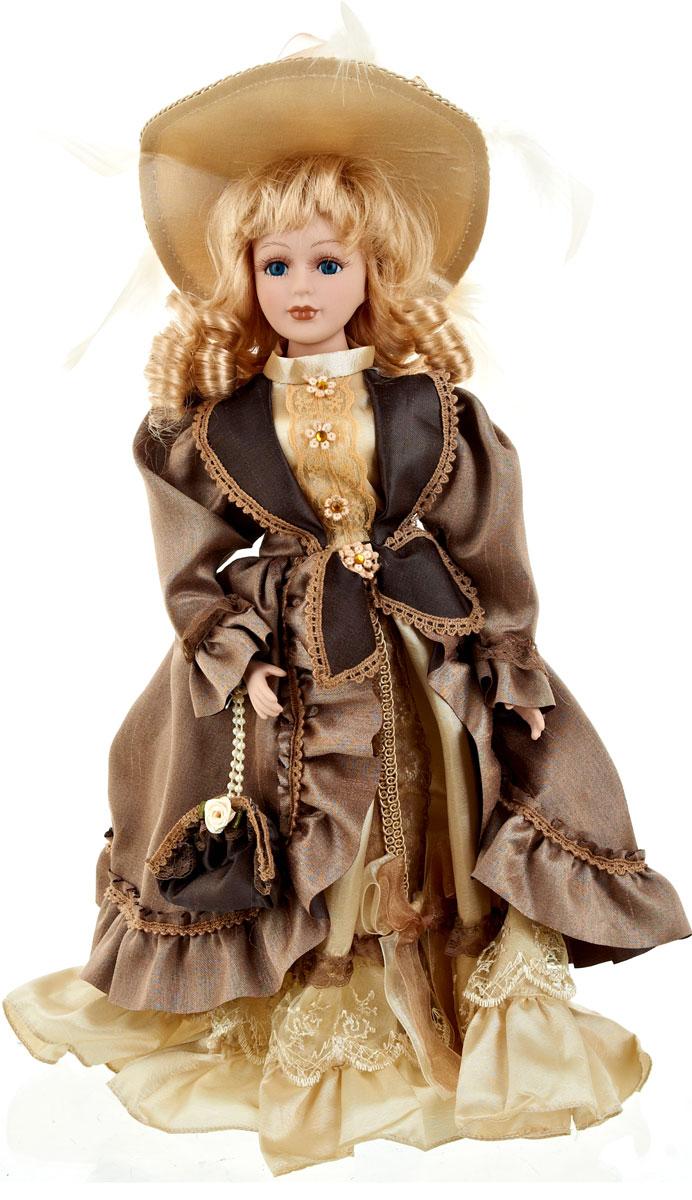 Кукла коллекционная ArtHouse Татьяна, высота 36,5 см108.3251.54Великолепная кукла Татьяна, выполненная из фарфора, займет достойное место в вашей коллекции. Кукла максимально приближена к живому прототипу - юной леди с румянцем на щеках.Туловище куклы мягконабивное. Наряжена кукла в шикарное платье, выполненное из атласа, кружева и органзы.Для более удобного расположения куклы в интерьере прилагается удобная подставка.