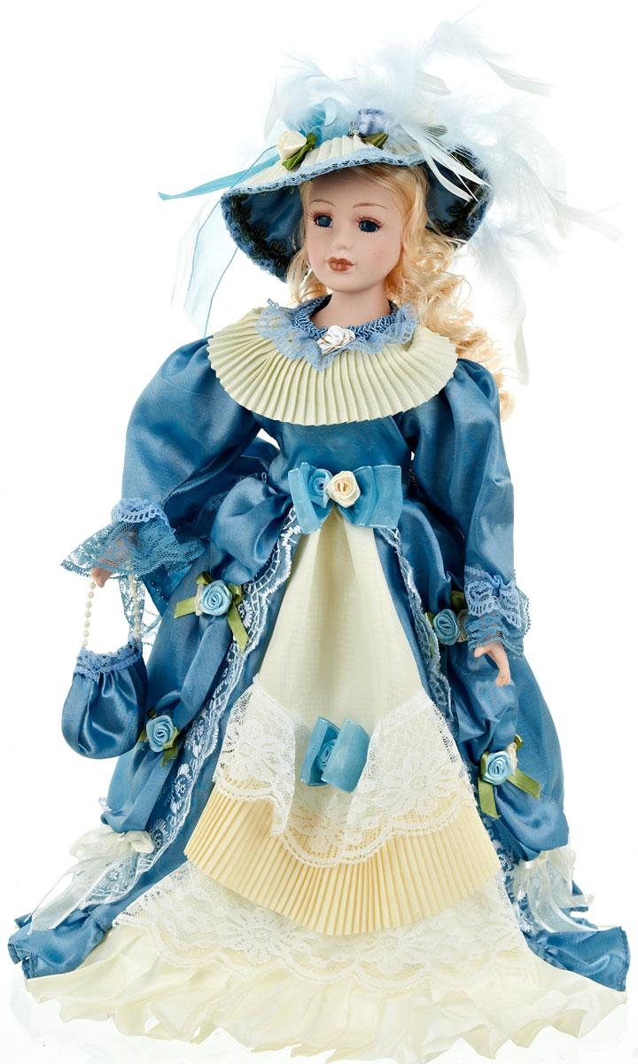 Кукла коллекционная ArtHouse Дарья, высота 36,5 см54 009312Великолепная кукла Дарья, выполненная из фарфора, займет достойное место в вашей коллекции. Кукла максимально приближена к живому прототипу - юной леди с румянцем на щеках.Туловище куклы мягконабивное. Наряжена кукла в шикарное платье, выполненное из атласа, кружева и органзы.Для более удобного расположения куклы в интерьере прилагается удобная подставка.