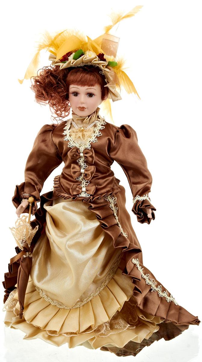 Кукла коллекционная ArtHouse Ирина, высота 36,5 см44504Великолепная кукла Ирина, выполненная из фарфора, займет достойное место в вашей коллекции. Кукла максимально приближена к живому прототипу - юной леди с румянцем на щеках.Туловище куклы мягконабивное. Наряжена кукла в шикарное платье, выполненное из атласа, кружева и органзы.Для более удобного расположения куклы в интерьере прилагается удобная подставка.