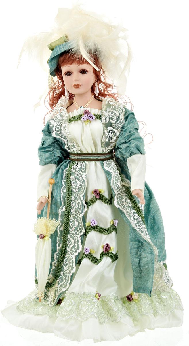 Кукла коллекционная ArtHouse Таисия, высота 36,5 см74-0120Великолепная кукла Таисия, выполненная из фарфора, займет достойное место в вашей коллекции. Кукла максимально приближена к живому прототипу - юной леди с румянцем на щеках.Туловище куклы мягконабивное. Наряжена кукла в шикарное платье, выполненное из атласа, кружева и органзы.Для более удобного расположения куклы в интерьере прилагается удобная подставка.