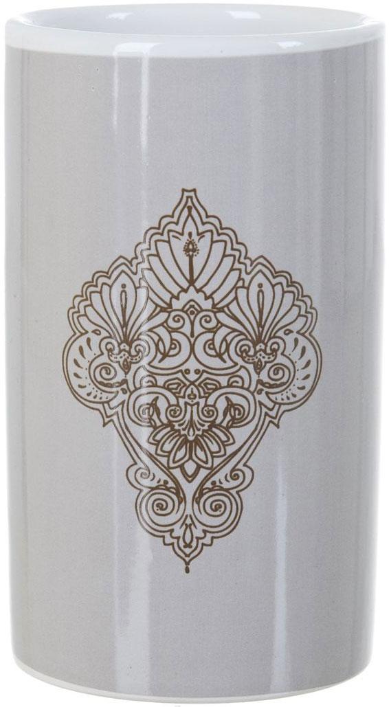 Стакан для ванной ENS Group Дамиана, 300 млCLP446Стакан для ванной комнаты ENS GROUP Дамиана изготовлен из натуральной и элегантной керамики. В стакане удобно хранить зубные щетки, пасту и другие принадлежности. Стакан идеально подойдет к любому стилю ванной комнаты, красиво дополнит интерьер и создаст особую атмосферу уюта и комфорта.