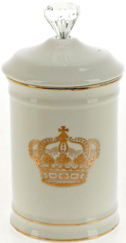 Стакан для гигиенических принадлежностей White Clean Монарх, с крышкой, 350 мл white clean шторка для ванной