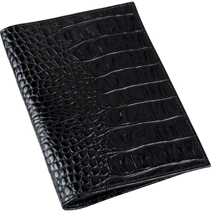 Обложка для паспорта женская Befler Кайман, цвет: черный. O.1.-13O.1.-13Обложка для паспорта из коллекции Кайман выполнена из натуральной кожи с тиснением под рептилию. На внутреннем развороте два кармана из прозрачного пластика с выемкой.