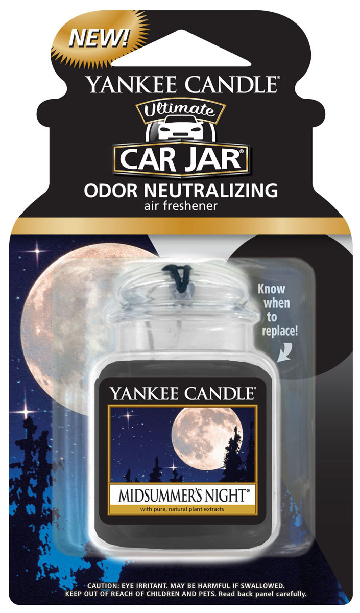 Ароматизатор автомобильный Yankee Candle Летняя ночь, гелевыйRC-100BPCПолимерный (гелевый) ароматизатор с ароматом Летняя ночь. Насыщенный мужской аромат смеси мускуса, пачули, шалфея и красного дерева Кельн.Продукция для автомобиля от Yankee Candle прекрасно ароматизирует маленькие пространства при этом не обладает навязчивым запахом, от которого нужно будет проветривать ваш автомобиль.Каждый ароматизатор прослужит вам около четырех недель.