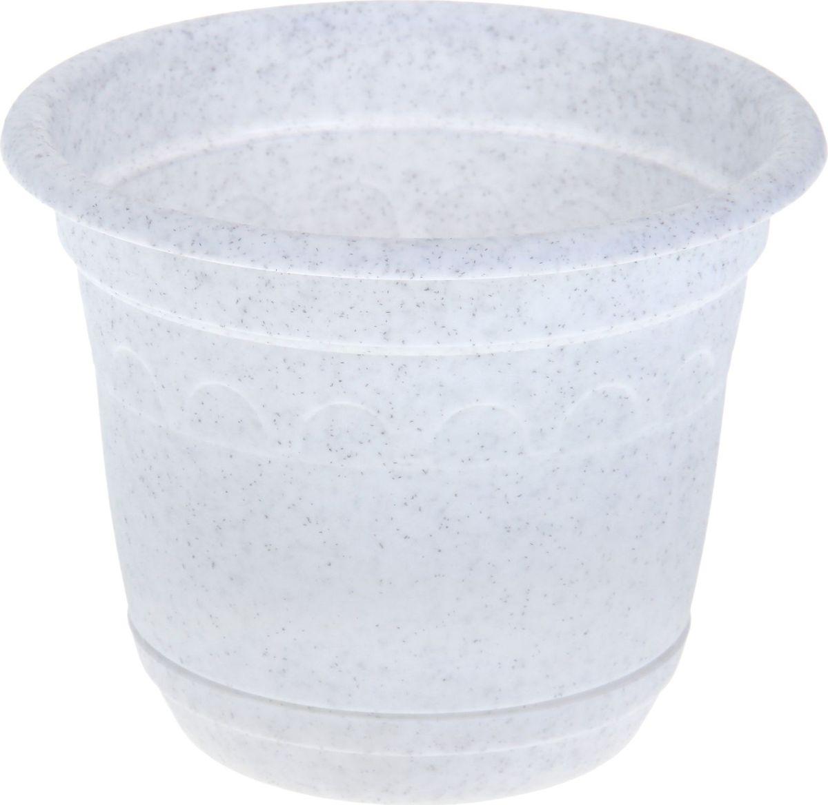 Горшок Martika Колывань, с поддоном, цвет: мрамор, 0,9 л531-105Любой, даже самый современный и продуманный интерьер будет не завершённым без растений. Они не только очищают воздух и насыщают его кислородом, но и заметно украшают окружающее пространство. Такому полезному члену семьи просто необходимо красивое и функциональное кашпо, оригинальный горшок или необычная ваза! Мы предлагаем - Горшок 0,9 л Колывань с поддоном d=14 см, цвет мрамор! Оптимальный выбор материала пластмасса! Почему мы так считаем? -Малый вес. С лёгкостью переносите горшки и кашпо с места на место, ставьте их на столики или полки, подвешивайте под потолок, не беспокоясь о нагрузке. -Простота ухода. Пластиковые изделия не нуждаются в специальных условиях хранения. Их легко чистить достаточно просто сполоснуть тёплой водой. -Никаких царапин. Пластиковые кашпо не царапают и не загрязняют поверхности, на которых стоят. -Пластик дольше хранит влагу, а значит растение реже нуждается в поливе. -Пластмасса не пропускает воздух корневой системе растения не грозят резкие перепады температур. -Огромный выбор форм, декора и расцветок вы без труда подберёте что-то, что идеально впишется в уже существующий интерьер. Соблюдая нехитрые правила ухода, вы можете заметно продлить срок службы горшков, вазонов и кашпо из пластика: -всегда учитывайте размер кроны и корневой системы растения (при разрастании большое растение способно повредить маленький горшок)-берегите изделие от воздействия прямых солнечных лучей, чтобы кашпо и горшки не выцветали-держите кашпо и горшки из пластика подальше от нагревающихся поверхностей. Создавайте прекрасные цветочные композиции, выращивайте рассаду или необычные растения, а низкие цены позволят вам не ограничивать себя в выборе.