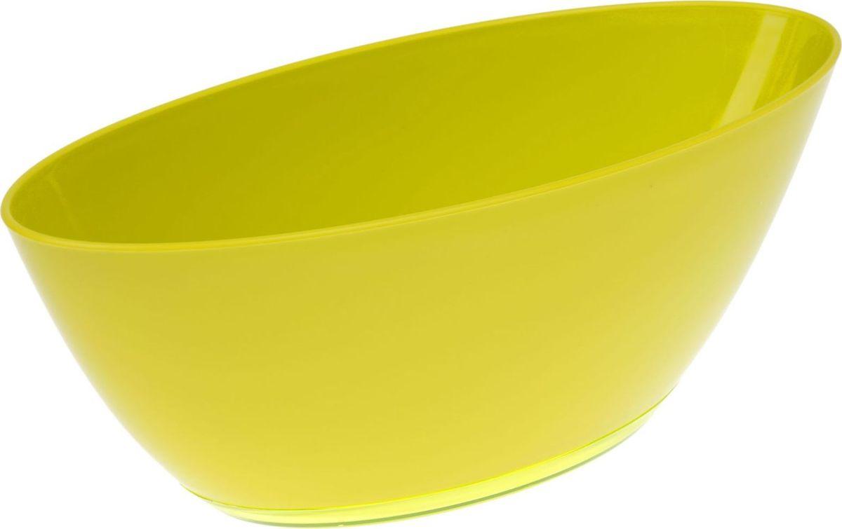 Кашпо JetPlast Лодочка, с поддоном, цвет: фисташковый, 3 л531-401Кашпо «Лодочка» подойдёт для тех, кто хочет комбинировать растения. Благодаря продолговатой форме вы сможете посадить два, а то и три маленьких цветка. Такой приём заметно освежит интерьер. Особенности: -вместительность и малый вес-подходит для дома и сада-устойчиво к перепадам температуры-отличается повышенной влагостойкостью. Грамотно подобранный аксессуар для цветов может значительно преобразить помещение, сделать его более уютным и современным.