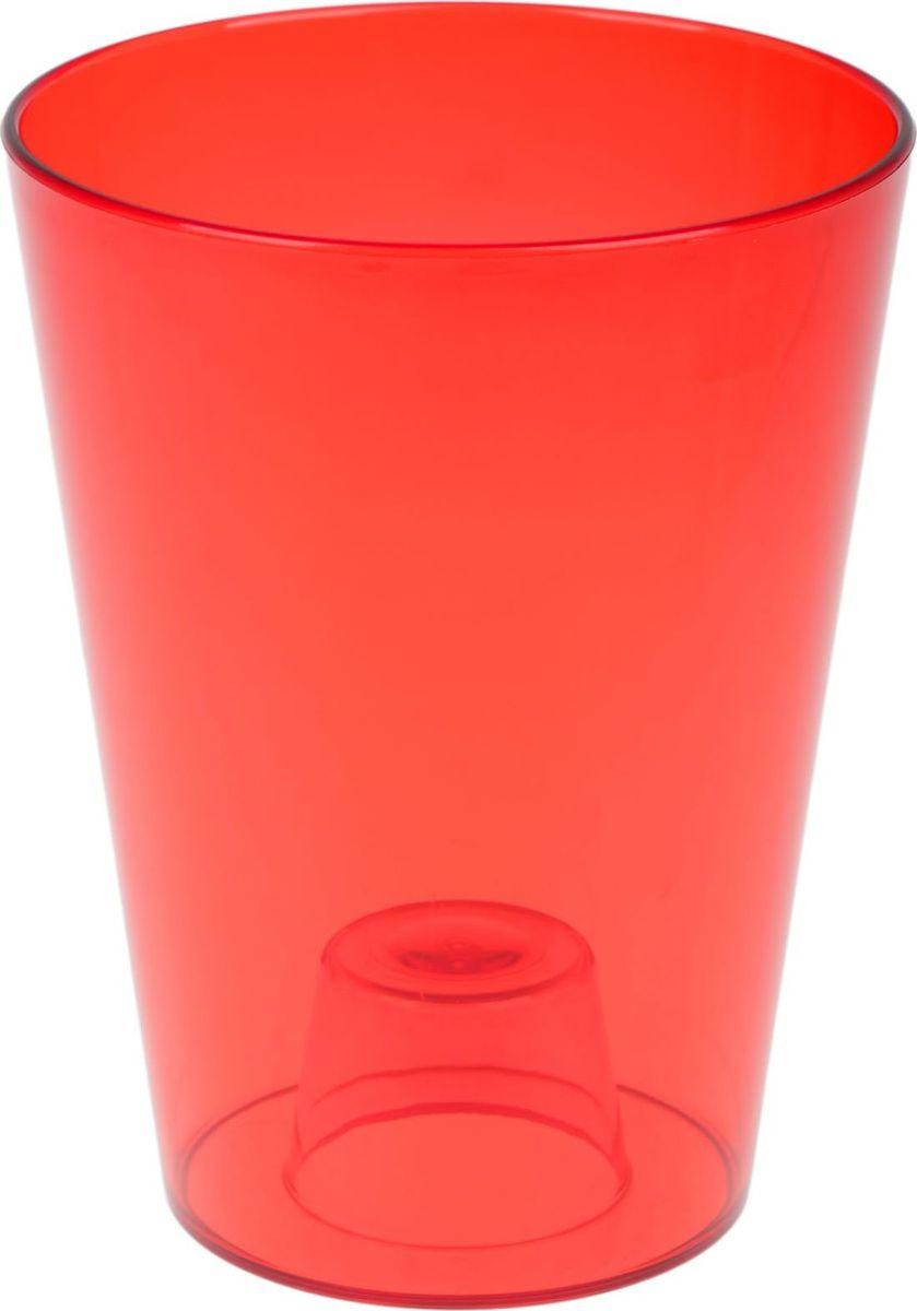 Кашпо JetPlast Лаванда, цвет: красный, 1,2 л531-401Любой, даже самый современный и продуманный интерьер будет не завершённым без растений. Они не только очищают воздух и насыщают его кислородом, но и заметно украшают окружающее пространство. Такому полезному члену семьи просто необходимо красивое и функциональное кашпо, оригинальный горшок или необычная ваза! Мы предлагаем - Кашпо 1,2 л ЛаВанда, цвет красный! Оптимальный выбор материала пластмасса! Почему мы так считаем? -Малый вес. С лёгкостью переносите горшки и кашпо с места на место, ставьте их на столики или полки, подвешивайте под потолок, не беспокоясь о нагрузке. -Простота ухода. Пластиковые изделия не нуждаются в специальных условиях хранения. Их легко чистить достаточно просто сполоснуть тёплой водой. -Никаких царапин. Пластиковые кашпо не царапают и не загрязняют поверхности, на которых стоят. -Пластик дольше хранит влагу, а значит растение реже нуждается в поливе. -Пластмасса не пропускает воздух корневой системе растения не грозят резкие перепады температур. -Огромный выбор форм, декора и расцветок вы без труда подберёте что-то, что идеально впишется в уже существующий интерьер. Соблюдая нехитрые правила ухода, вы можете заметно продлить срок службы горшков, вазонов и кашпо из пластика: -всегда учитывайте размер кроны и корневой системы растения (при разрастании большое растение способно повредить маленький горшок)-берегите изделие от воздействия прямых солнечных лучей, чтобы кашпо и горшки не выцветали-держите кашпо и горшки из пластика подальше от нагревающихся поверхностей. Создавайте прекрасные цветочные композиции, выращивайте рассаду или необычные растения, а низкие цены позволят вам не ограничивать себя в выборе.