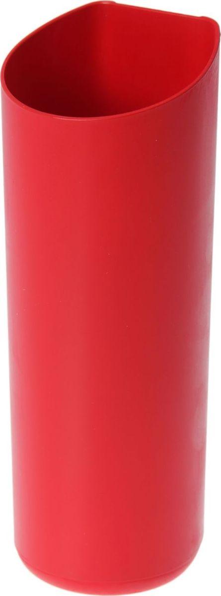 Кашпо WallGarden, для фитомодуля, цвет: красный, 8,9 х 8,9 х 22,2 см531-105Фитомодуль — новинка в области вертикального озеленения. Конструкция, как и сборка, предельно проста. Повесьте панель фитомодуля на стену, вставьте кашпо в специальные пазы и готово!Он экономит пространство, презентабельно выглядит и органично дополнит релакс-зону в офисе или дома.При желании вы легко измените композицию, перемещая кашпо или меняя цветы. Разместите в фитомодуле искусственные растения или создайте интерьерную композицию, используя, например, яркие карандаши, фломастеры, игрушки, на что хватит фантазии. Родители маленьких детей оценят, что конструкцию можно разместить высоко, и малыши не смогут «исследовать» её.Станьте флористом, сотворите уникальную композицию!