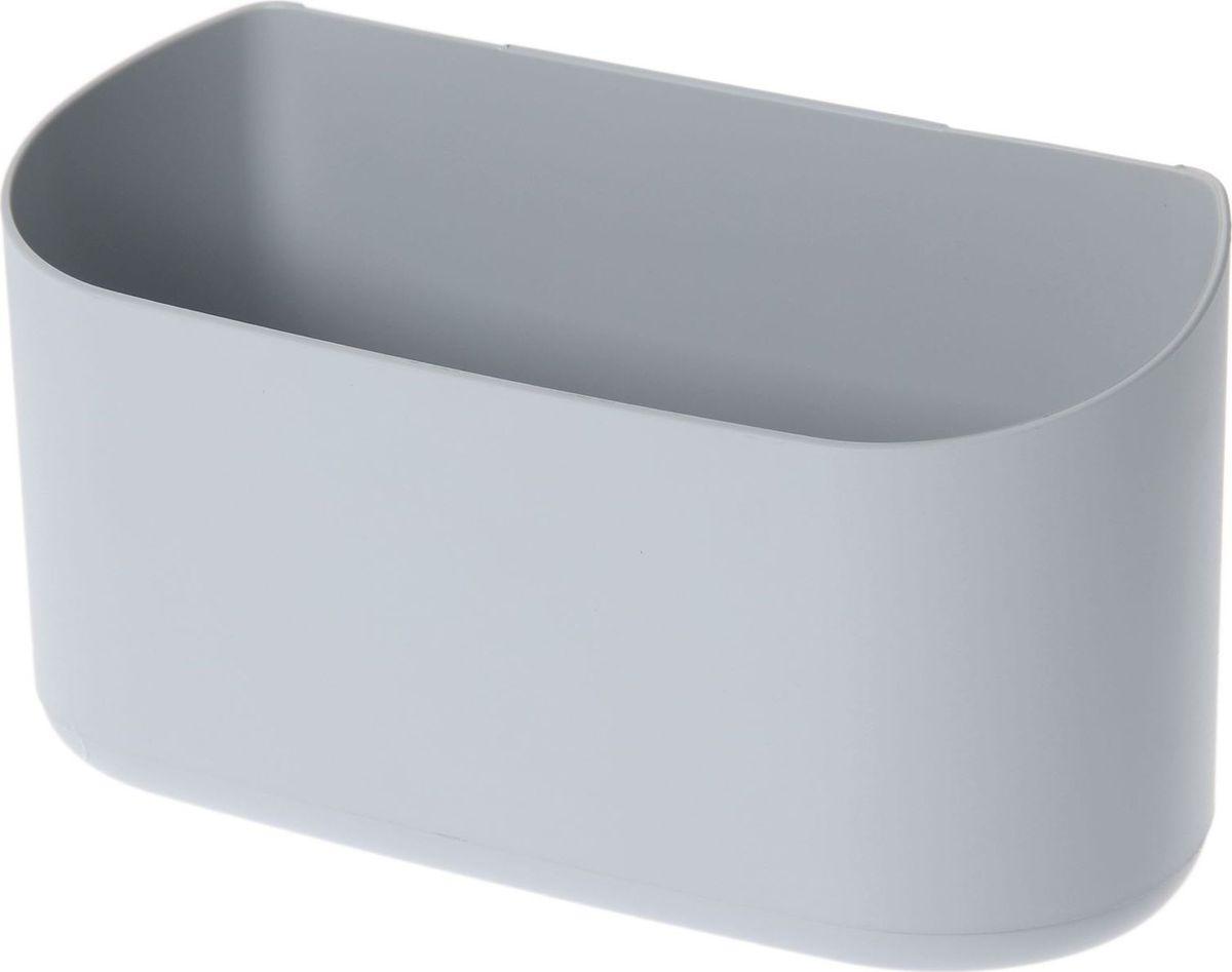 Кашпо WallGarden, для фитомодуля, цвет: серый, 21,9 х 8,9 х 9,5 см531-105Фитомодуль — новинка в области вертикального озеленения. Конструкция, как и сборка, предельно проста. Повесьте панель фитомодуля на стену, вставьте кашпо в специальные пазы и готово!Он экономит пространство, презентабельно выглядит и органично дополнит релакс-зону в офисе или дома.При желании вы легко измените композицию, перемещая кашпо или меняя цветы. Разместите в фитомодуле искусственные растения или создайте интерьерную композицию, используя, например, яркие карандаши, фломастеры, игрушки, на что хватит фантазии. Родители маленьких детей оценят, что конструкцию можно разместить высоко, и малыши не смогут «исследовать» её.Станьте флористом, сотворите уникальную композицию!