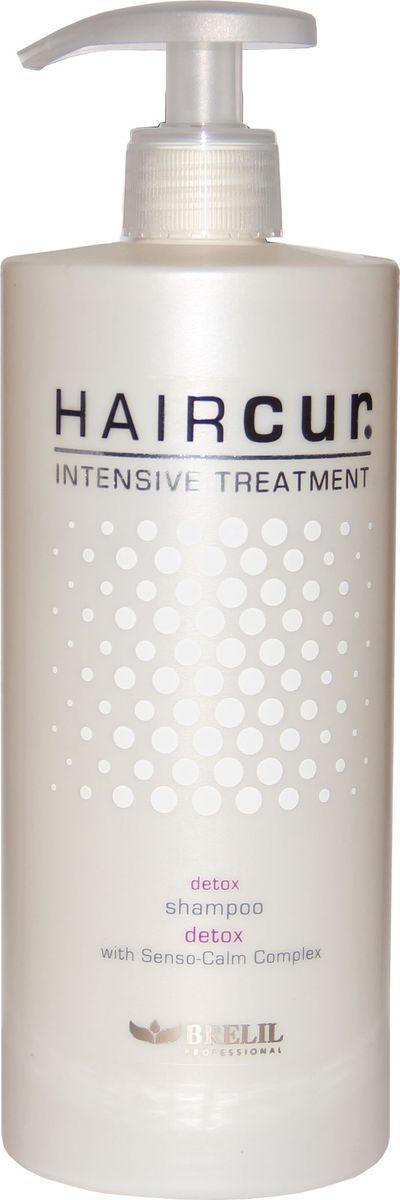 Brelil HCIT Detox Shampoo Шампунь для детоксикации волос 750 млFS-00897Шампунь Brelil Professional для детоксикации волос нормализует баланс, глубоко очищает и увлажняет волосы и кожный покров головы, удаляет загрязняющие излишки косметических веществ. Средство способствует улучшению микроциркуляции, наделяет волосы блеском и силой.