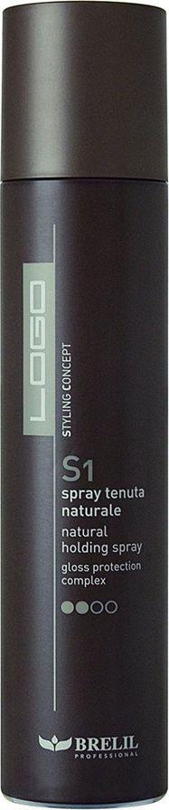 Brelil Logo S1 Natural Holding Spray Сухой спрей для волос нормальной фиксации 300 млFS-00897Сухой спрей Natural Holding Spray для волос с нормальной фиксацией не оставит на них никакого следа и не утяжелит волосы. Благодаря gloss protection комплекcу волосы гарантированно будут защищенными и блестящими в течение суток.