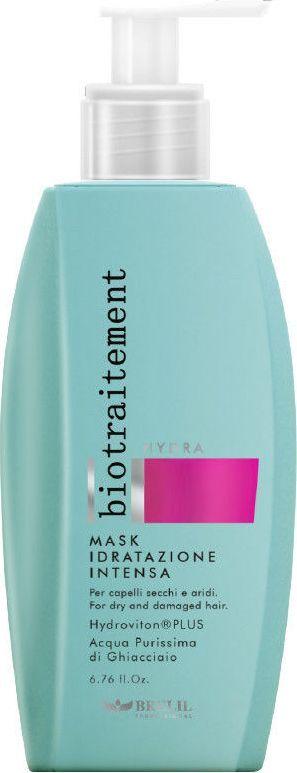 Brelil Bio Traitement Hydra Mask Интенсивная увлажняющая маска 1000 млFS-00897Интенсивная увлажняющая маска с ледниковой водой горного массива Монте-Роза для сухих и поврежденных волос. Hydrovition Plus разглаживает непослушные кудрявые волосы и предупреждает ломкость и тонкость волос, делает их мягкими и приятными на ощупь.