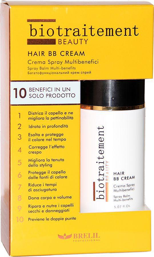 Brelil Cristalli di Argan BB Cream Многофункциональный BB-крем для всех типов волос 150 мл bb крем
