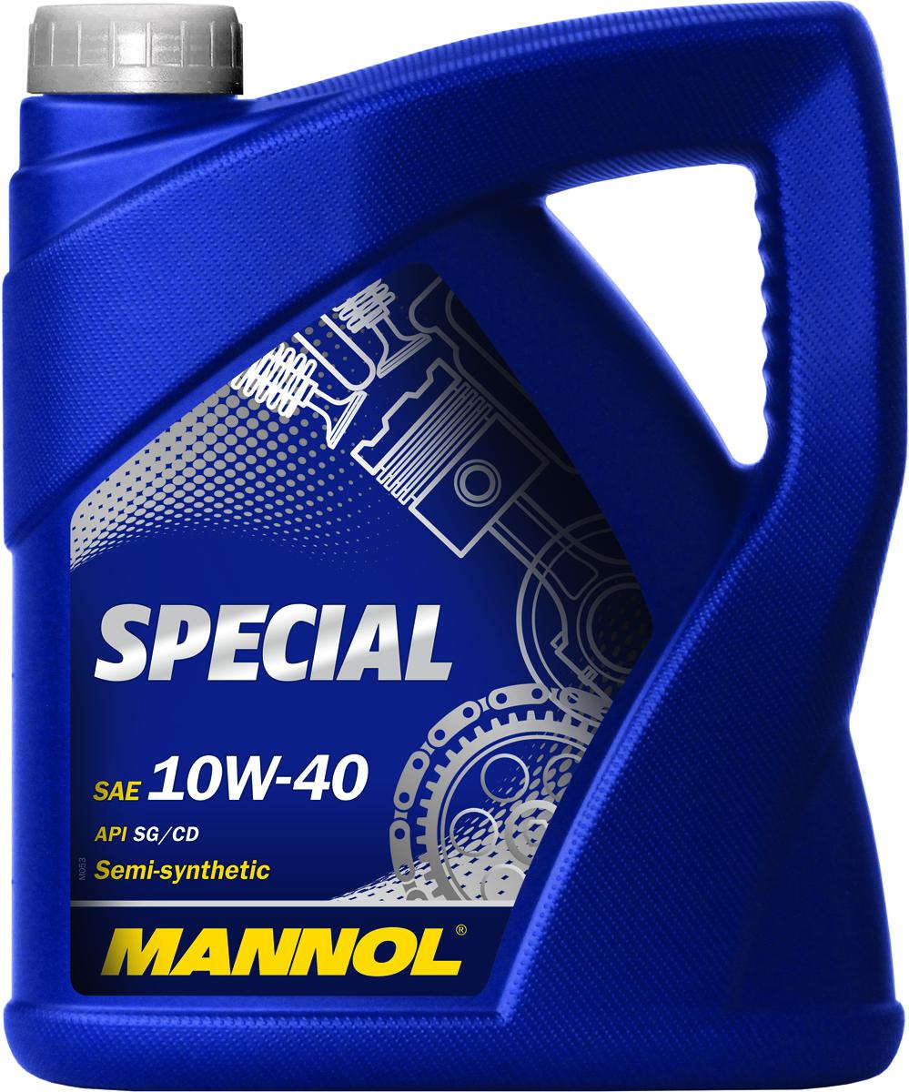 Масло моторное MANNOL Special, 10W-40, полусинтетическое, 4 л102051Моторное масло Mannol Special - всесезонное полусинтетическое моторное масло, разработанное для применения в бензиновых и дизельных двигателях. Обладает высокой стойкостью к старению. Эффективно снижает нагаро- и лакообразование. Обеспечивает надежную смазку деталей двигателя. Содержит малозольный пакет присадок, способствующий продлению рабочего ресурса катализатора дожига отработавших газов.Допуски и соответствия VW 501.01/505.00, MB 229.1. Вязкость при -25°C: 6420 CP. Вязкость при 100°C: 13,92 CSt. Вязкость при 40°C: 95,43 CSt. Индекс вязкости: 148. Плотность при 15°C: 860 kg/m3. Температура вспышки COC: 224 °C. Температура застывания: -39 °C. Щелочное число: 6,02 gKOH/kg. Товар сертифицирован.