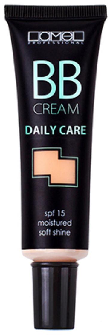 Lamel Professional ВВ крем для лица Daily Care 02, 30 мл5060449181031Безмасляная текстура ВВкрема Lamel равномерно распределяется и быстро впитывается, выравнивая поверхность кожи и делая ее тон совершенным. При этом питая и увлажняя вашу кожу. Кроме того, BB-крем скрывает поры и маскирует различные недостатки, придавая коже легкое естественное сияние, безупречный вид и оставаясь при этом незаметным.