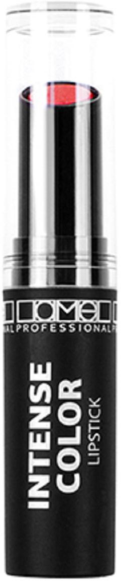 Lamel Professional Помада для губ Intense Color кремовая 06, 3,6 г5060449181642Помада с кремовой текстурой, которая дарит Вашим губам яркость, мягкость и увлажнение.Помада представлена в множестве роскошных оттенков – от натурально-бежевого до насыщенного классического красного . Нежная текстура легко распределяется по коже губ ровным слоем, не растекаясь и не подчеркивая шелушения или другие мелкие недостатки. Высокопигментированная формула помады содержит витамин E, касторовое масло, которые питают, смягчают и увлажняют кожу губ, делая ее нежной, гладкой и упругой.