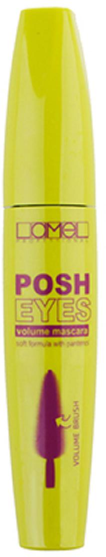 Lamel Professional Тушь для ресниц Posh Eyes, 10 мл5060449181475Тушь для ресниц Posh Eyes от Lamel делает ресницы длинными, пушистыми и придает им эффектный объем. Зауженная на конце щеточка туши позволяет легко прокрашивать как верхние, так и нижние ресницы, а также ресницы в уголках глаз, безупречно разделяя их и нанося тушь гладким слоем без комочков. Уникальная формула сохраняет мягкость ресниц, предотвращая их обламывание. Тушь обладает стойкостью и обеспечивает ресницам идеальный, роскошный вид на весь день, не позволяя им склеиваться и терять свой изгиб.