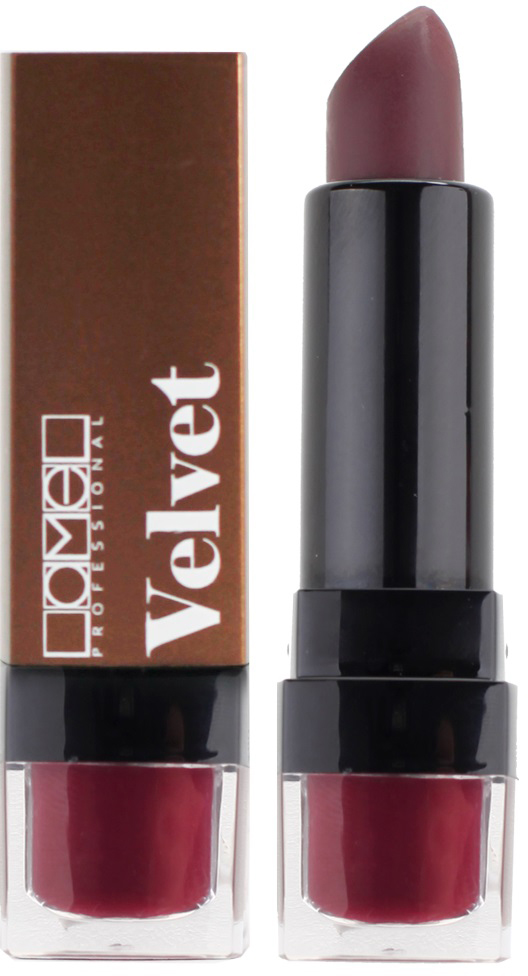 Lamel Professional Помада для губ Velvet матовая 02, 4 г5060449184230Матовая помада Lamel Velvet – любовь с первого прикосновения к вашим губам, обладает нежной, бархатистой текстурой, которая равномерно распределяется по коже, не подчеркивая шелушений и других недостатков. Помада не растекается, не скатывается в уголках и не сушит губы. Формула средства содержит витамин E и лецитин, благодаря чему помада оказывает на кожу губ ухаживающее действие – разглаживает, увлажняет и питает ее, даря Вам ощущение комфорта на весь день. Трендовая гамма из 6 цветов – вы захотите купить их все!