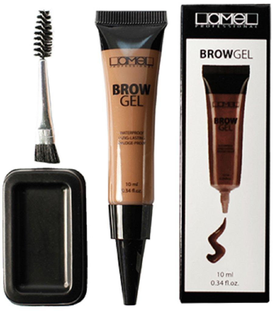 Lamel Professional гель для бровей Brow Gel 01, 10 млE901BТату гель для бровей - гель, помогающий сделать Ваши брови идеальными. Удобная щеточка равномерно распределяет гель, прокрашивая каждый волосок, благодаря чему брови выглядят более густыми, яркими и при этом – естественными. Гель обладает высокой стойкостью не размазывается, не отслаивается, что гарантирует Вам безупречный вид на весь день.