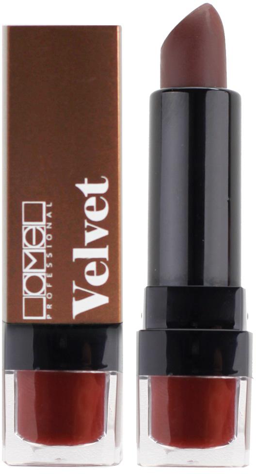 Lamel Professional Помада для губ Velvet матовая 06, 4 гSC-FM20104Матовая помада Lamel Velvet – любовь с первого прикосновения к вашим губам, обладает нежной, бархатистой текстурой, которая равномерно распределяется по коже, не подчеркивая шелушений и других недостатков. Помада не растекается, не скатывается в уголках и не сушит губы. Формула средства содержит витамин E и лецитин, благодаря чему помада оказывает на кожу губ ухаживающее действие – разглаживает, увлажняет и питает ее, даря Вам ощущение комфорта на весь день. Трендовая гамма из 6 цветов – вы захотите купить их все!