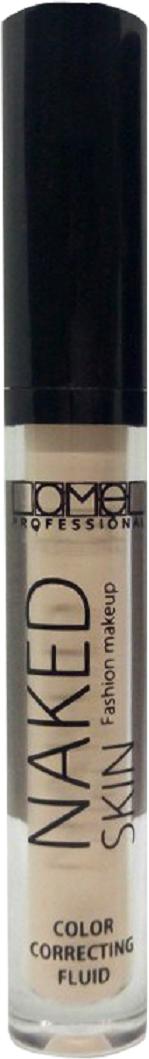 Lamel Professional Консилер жидкий Naked 01, 4 мл5060449187903Жидкий консилер маскирует и корректирует круги под глазами и различные дефекты, разглаживая и придавая коже натуральный свежий вид. Благодаря светоотражающим пигментам, крем придает коже лица сияние, делая ее более свежей.