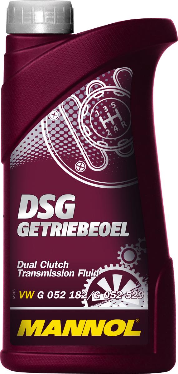 Трансмиссионное масло MANNOL DSG Getriebeoel, синтетическое, 1 л1246Синтетическое трансмиссионное масло, специально разработанное для применения в роботизированных коробках передач с двойным сцеплением автомобилей VW/AUDI (DSG/S-tronic), ZF, BMW (DKG-GETRAG), FORD (POWERSHIFT), PEUGEOT/CITROEN (DCSG) VOLVO, CHRYSLER, DODGE, MITSUBISHI (TC-SST). Современный пакет присадок гарантирует отличные смазывающие свойства при экстремальных нагрузках и резких перепадах температур. Специальные синтетические компоненты в составе масла повышают производительность и надежность работы синхронизаторов, фрикционных муфт, шестерен, гидравлических сервоприводов. Позволяет увеличить срок службы коробок передач с двойным сцеплением. Способствует эффективной экономии топлива,Продукт имеет допуски / соответствует спецификациям: VW/AUDI G 052 182/G 052 529 PSA 9734.S2 FORD WSS-M2C936 VOLVO 1161838/1161839 MB 236.21 (001 989 85 03) PORSCHE 999.917.080.00 BMW 83222148578/83222148579 BMW 83220440214/83222147477 MITSUBISHI MZ320065