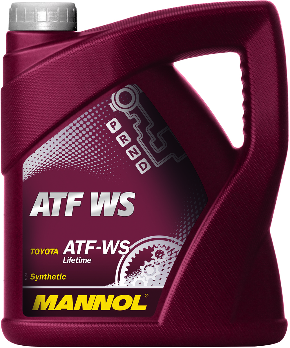 Масло трансмиссионное MANNOL ATF WS Automatic Special, синтетическое, 4 л1380Трансмиссионное масло Mannol ATF WS Automatic Special - специальная синтетическая гидравлическая жидкость для трансмиссий автомобилей Toyota с контролем скольжения передач. Тщательно подобранные присадки и синтетические компоненты обеспечивают наилучшие фрикционные свойства в момент переключения скоростей, отличные низкотемпературные характеристики, высокую антиокислительную и химическую стабильность на всем сроке эксплуатации. Предназначено для большинства 6-ступенчатых и некоторых 5-ступенчатых автоматических трансмиссий, используемых в автомобилях Toyota с 2005 года. Продукт имеет допуски / соответствует спецификациям / продуктам: AISIN WARNER, BMW 4 and 5 speed European, CHRYSLER ATF +3 / 4, MAN 339 Type Z-1, MB 4 and 5 speed European, TOYOTA T-III / T-IV / WS Lifetime, VOITH ATs 55.6335, VW 4 and 5 speed European.Вязкость при -40°C: 13100 CP.Вязкость при 100°C: 7,05 CSt.Вязкость при 40°C: 34,5 CSt.Индекс вязкости: 172.Плотность при 15°C: 846 kg/m3. Температура вспышки COC: 216 °C.Температура застывания: -45 °C.Товар сертифицирован.
