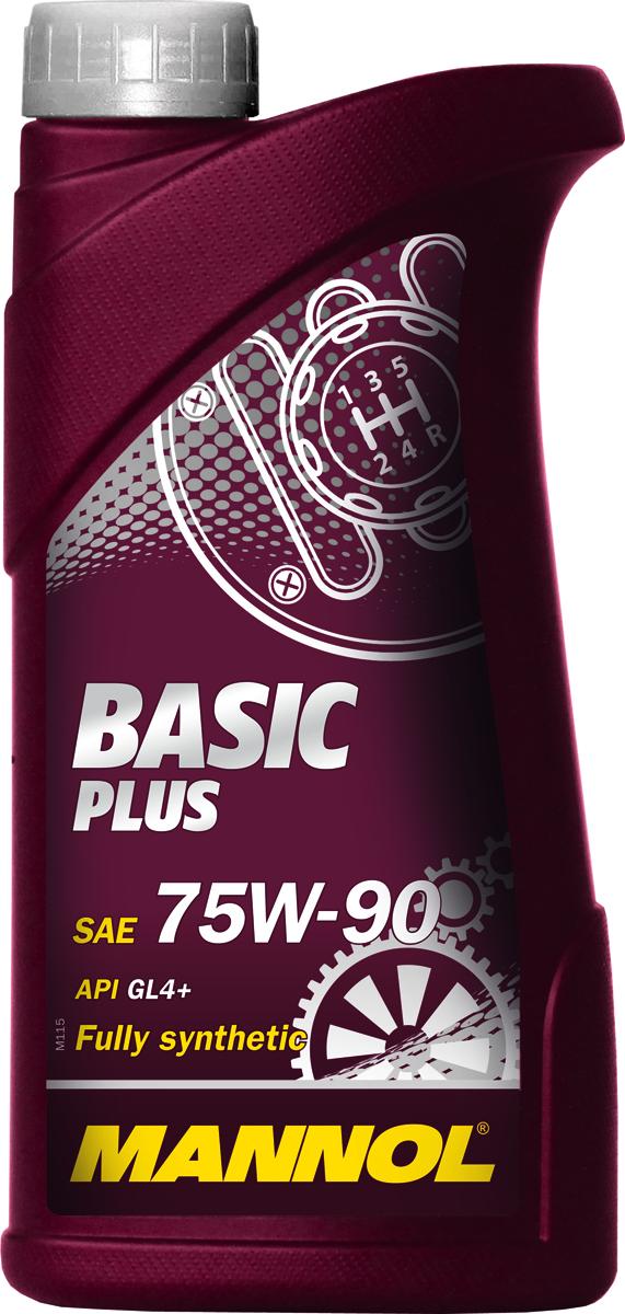Трансмиссионное масло MANNOL Basic Plus, 75W-90, синтетическое, 1 лS03301004Basic Plus 75W90 GL-4+ - полностью синтетическое высоко-качественное трансмиссионное масло, предназначенное для смазки коробок передач с интегрированными дифференциалами. Обеспечивает высокую защиту дифференциала и увеличивает срок его службы. Способствует продлению срока между заменами масла. Превосходит большинство требований автопроизводителей, продукт имеет допуски / соответствует спецификациям / продуктам:SAE 75W-90API GL 4+MIL-L 2105VW 501.50