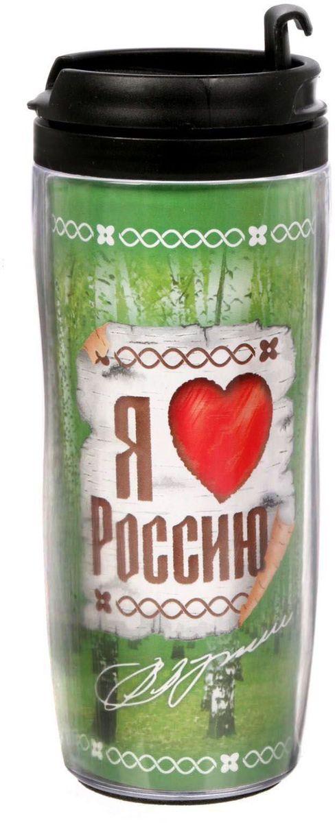 Термостакан Sima-land Я люблю Россию. Путин, 350 млVT-1520(SR)Термостакан 350 мл создан для тех, кто всегда находится в движении. Преподнесите своему близкому такой подарок и он, наслаждаясь любимым напитком, будет вспоминать о вас везде: на работе, отдыхе, в дороге. Особенности:Противоскользящая прокладка на дне.Классическая форма высокого стакана обеспечит удобство использования.Авторский дизайн подчеркнет индивидуальность обладателя.Сменный вкладыш.Такой термостакан — практичный аксессуар и чудесный подарок для себя, друга или коллеги.