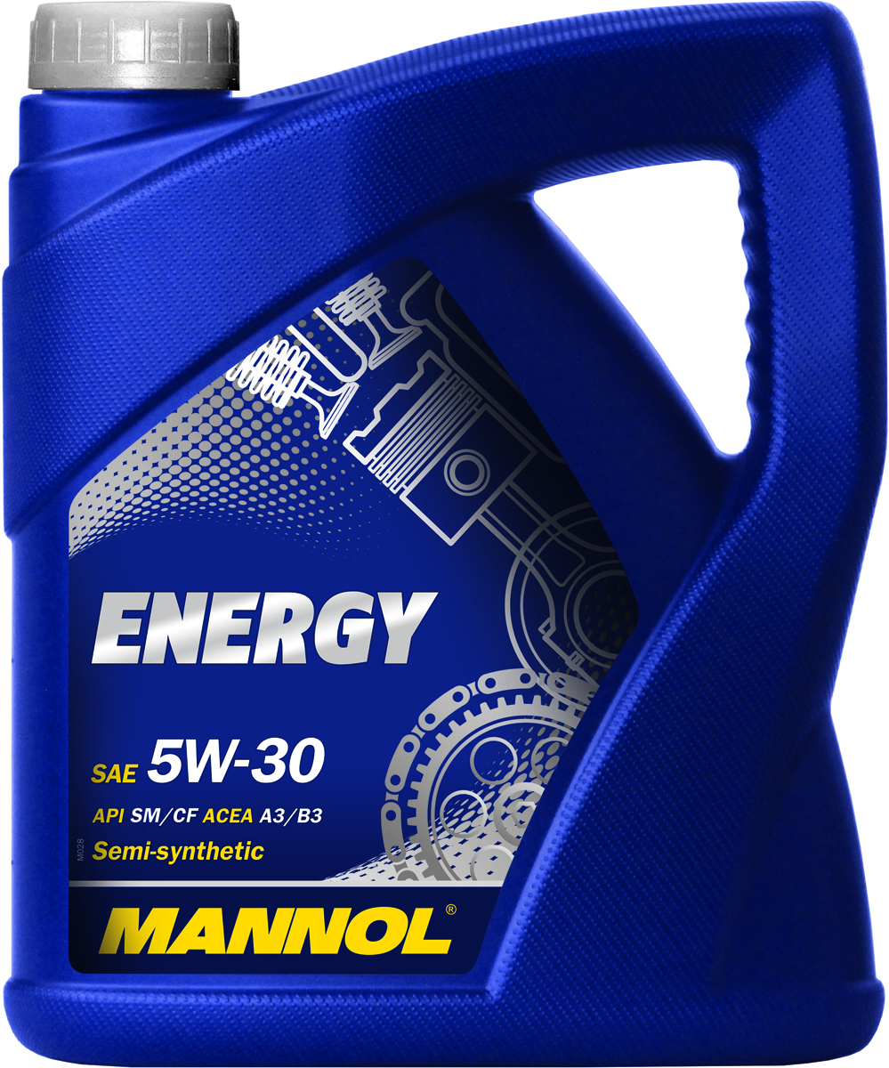 Масло моторное MANNOL Energy, 5W-30, синтетическое, 4лZ-0307Моторное масло MANNOL Energy 5W-30 - универсальное всесезонное полусинтетическое моторное масло, предназначенное для современных бензиновых и дизельных двигателей с турбонаддувом и без. Разработано с использованием специальной новой уникальной технологии снижения износа. Моторное масло MANNOL Energy обеспечивает высокую степень защиты. Гарантирует исключительную чистоту деталей двигателя. Эффективно экономит топливо. MANNOL Energy - это надежная работа двигателя в условиях высоких нагрузок, скоростей и частой смены температур.Допуски и соответствия ACEA A3/B4, VW 502.00/505.00, MB 229.3.Вязкость при -30°C: 5240 CP. Вязкость при 100°C: 11,18 CSt.Вязкость при 40°C: 66,37 CSt.Индекс вязкости: 161.Плотность при 15°C: 852 kg/m3.Температура вспышки COC: 224 °C.Температура застывания: -45 °C.Щелочное число: 8,22 gKOH/kg.Товар сертифицирован.