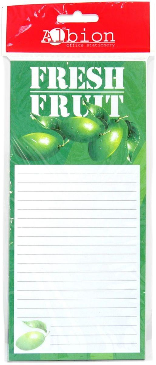 Albion Блок для записей Back to School на магните 50 листов0703415Блок бумаги для записей 50листов с магнитом сзади для крепления на холодильник