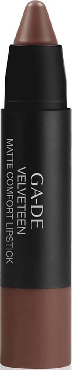 GA-DE Губная помада Velvetten Matte Comfort, тон №706, 2 г2101-WX-01Губная помада с матовым финишем, мягкая и комфортная, словно бархат. Одним движением придает губам интенсивный, глубокий цвет и выразительную форму. Благодаря содержанию ультратонких, высококонцентрированных пигментов и своей особой текстуре, помада MATTE COMFORT словно «вторая кожа» ложится на губы, не высыхает и сохраняет свою мягкость, даря ощущение идеального комфорта. Технология эластичных порошков сочетает в себе специальный комплекс восков и легких масел, которые способствуют ощущению гладкости и бархатистости. Формула обогащена растительным маслом дикого манго для эффективного увлажнения и защиты губ.