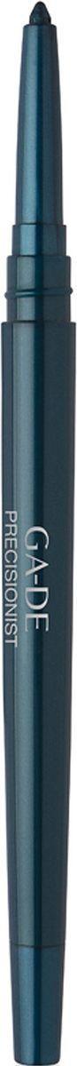 GA-DE Водостойкий карандаш для глаз Precisionist, тон №53, 0,25 г5010777142037Водостойкий контурный карандаш, позволяющий с высокой точностью подчеркнуть контур глаз, придавая им яркость и выразительность на протяжении всего дня. Благодаря особой формуле и нежной, бархатистой текстуре, карандаш прекрасно наносится, мягко скользит по веку, не травмирует и не раздражает нежную кожу. Карандаш обогащен также смягчающим компонентом на основе алоэ-вера и включает интегрированную в корпус точилку, которая является удобным и практичным дополнением для самозатачивания.
