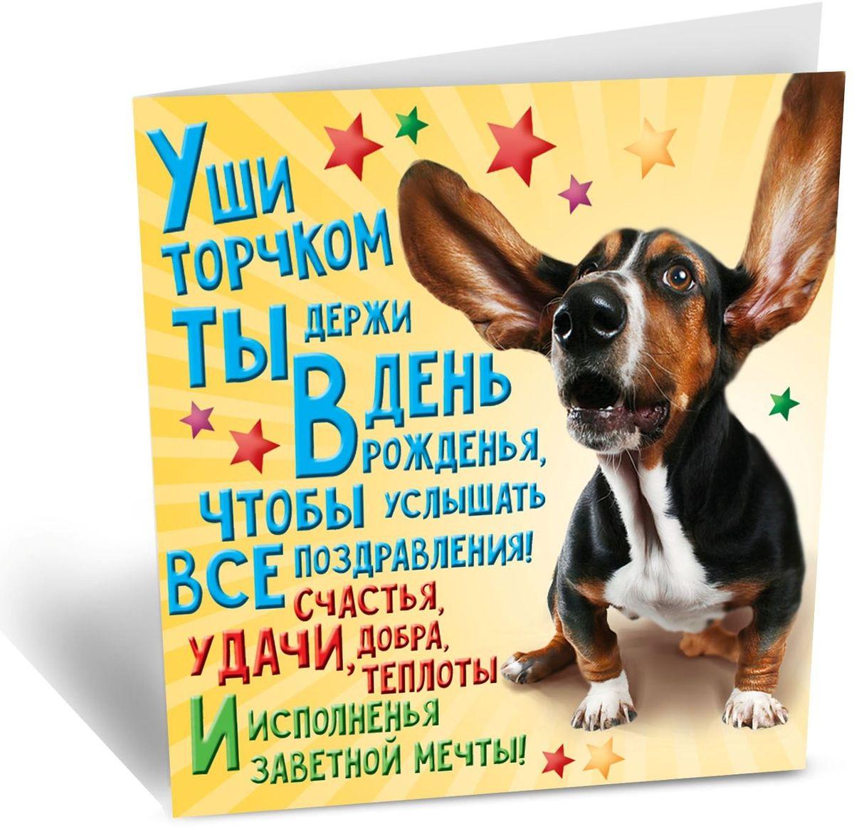 Открытка Дарите cчастье С Днем Рождения, 7 х 7 см41619Праздники — это отличный повод встретиться с родными и друзьями, провести вместе время. Поздравьте близких и дорогих вам людей, подарив им карточку с тёплыми пожеланиями.Мини-открытка не содержит текста, но имеет красивый дизайнерский рисунок. Такая яркая карточка станет прекрасным дополнением к основному подарку.Сохраните самые чудесные моменты жизни!
