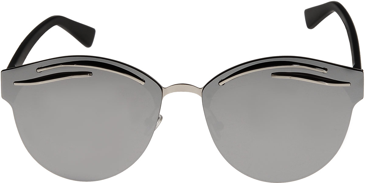 Очки солнцезащитные женские Taya, цвет: черный. S-O-0093BM8434-58AEСтильные солнцезащитные очки Taya формы кошачий глаз с зеркальными линзами прекрасно подходят для повседневной носки и отдыха. Очки с высокоэффективным ультрафиолетовым фильтром защитят ваши глаза от ультрафиолета, повреждений и ярких солнечных лучей. Очки Taya – это эффектный аксессуар, который станет изюминкой вашего индивидуального стиля.Категория: 3. Пропускают 8-18% света.