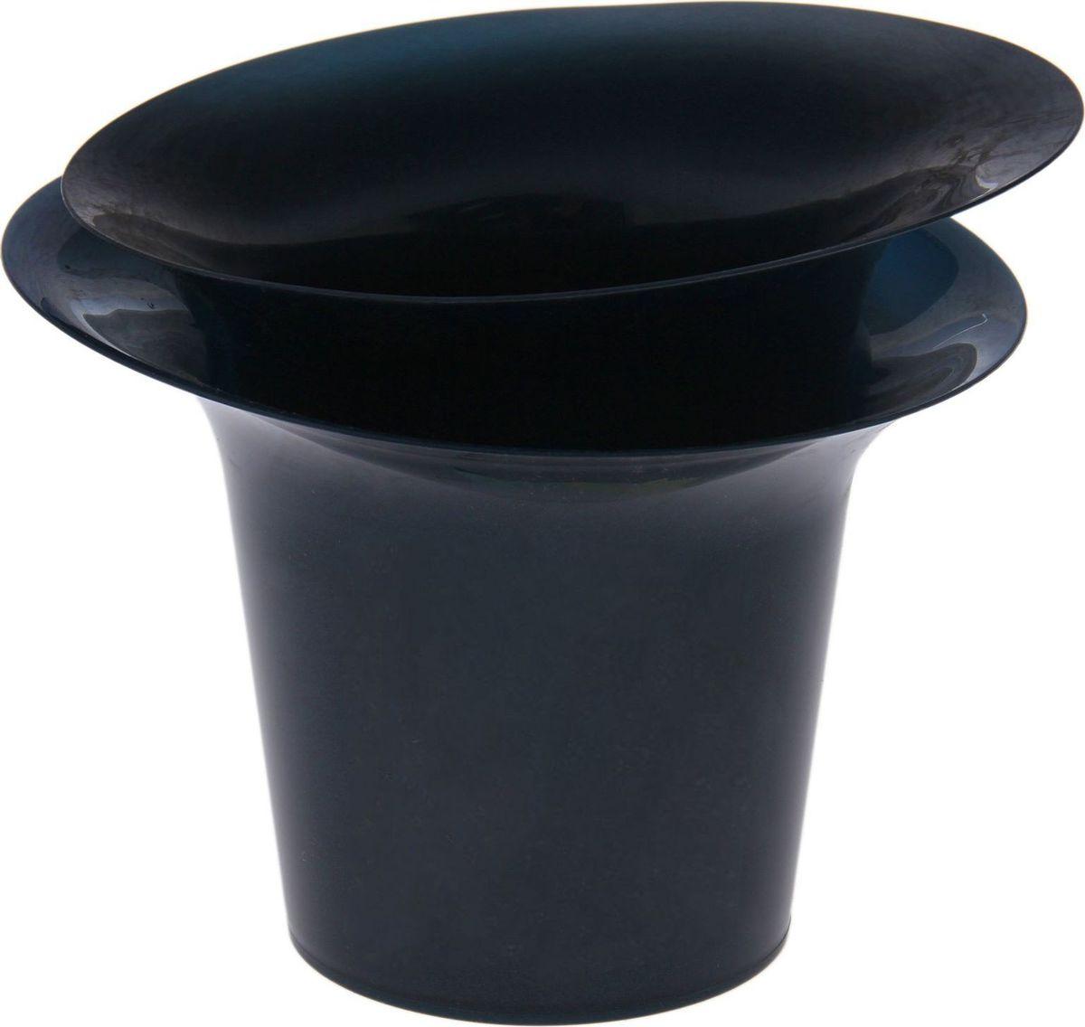 Горшок для цветов Техоснастка Модерн, цвет: синий перламутр, 1 л531-401Цветочный горшок — это не просто ёмкость для выращивания комнатных растений, но и важный элемент декора.Посадите растение в изделие «Модерн»! Его интересная форма дополнит интерьер, а качественный материал будет радовать вас долгие годы. Пластик полностью безопасен и не вступает в реакцию с почвой и корнями растения. Помимо этого, горшокЛёгкий, что делает удобной его транспортировку и эксплуатацию.Практичный: можно использовать для большинства комнатных растений. Цельный — вам не потребуется кашпо, чтобы вывести лишнюю влагу.