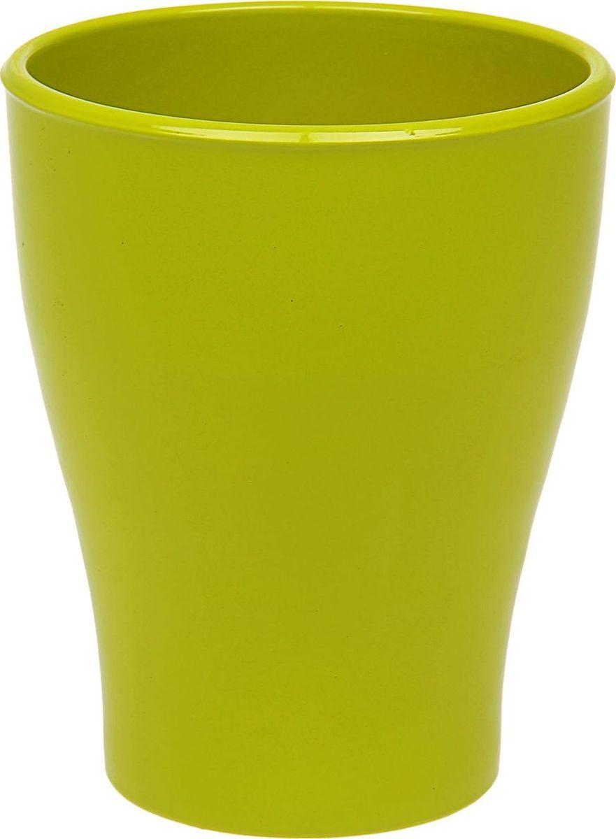 Кашпо Керамика ручной работы, для орхидеи, цвет: грушевый, 1,1 л531-105Кашпо серии «Каменный цветок» выполнено из белой глины методом формовки и покрыто лаком. Керамическая ёмкость имеет объём, оптимальный для создания наилучших условий развития орхидей.Устойчивый глубокий поддон защитит поверхность стола или подставки от жидкости.Благодаря строгим стандартам производства изделия отличаются правильной формой, отсутствием дефектов, имеют достаточную тяжесть для надёжной фиксации конструкции.Окраска моделей не восприимчива к прямым солнечным лучам, а в цветовой гамме преобладают яркие и насыщенные оттенки.Красота, удобство и долговечность кашпо серии «Каменный цветок» порадует любителей высококачественных аксессуаров для комнатных растений.
