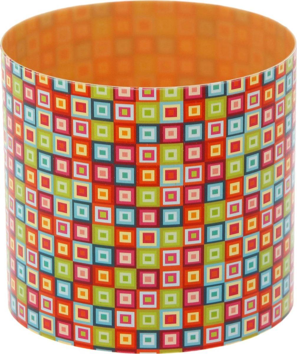 Горшок для цветов Simple Garden Мозаика, со скрытым поддоном, 1,7 л1915422