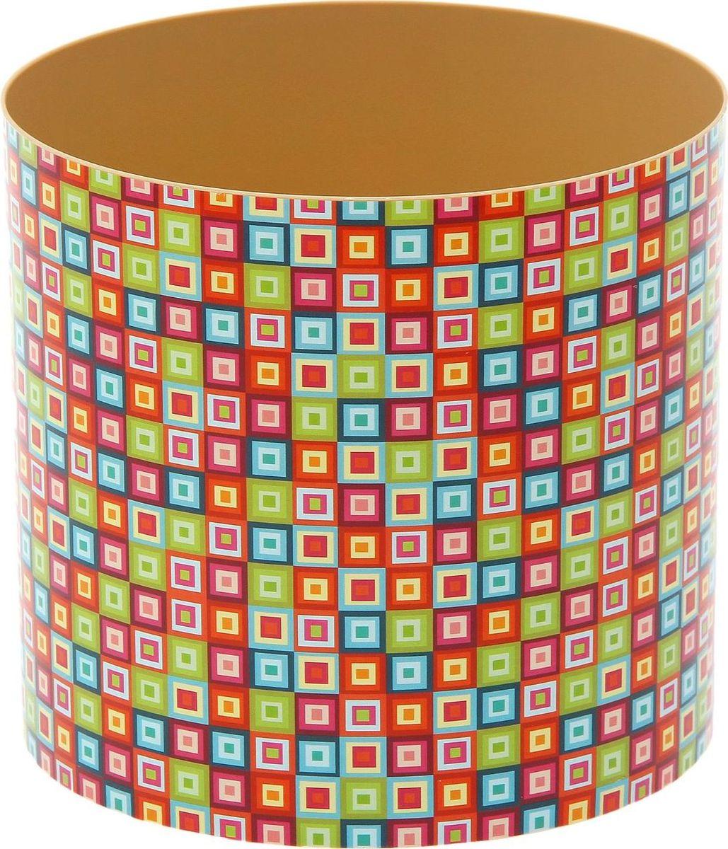 Горшок для цветов Simple Garden Мозаика, со скрытым поддоном, 2,8 л1915423Каждому хозяину периодически приходит мысль обновить свою квартиру, сделать ремонт, перестановку или кардинально поменять внешний вид каждой комнаты. Горшок со скрытым поддоном Simple Garden Мозаика - привлекательная деталь, которая поможет воплотить вашу интерьерную идею, создать неповторимую атмосферу в вашем доме. Окружите себя приятными мелочами, пусть они радуют глаз и дарят гармонию.