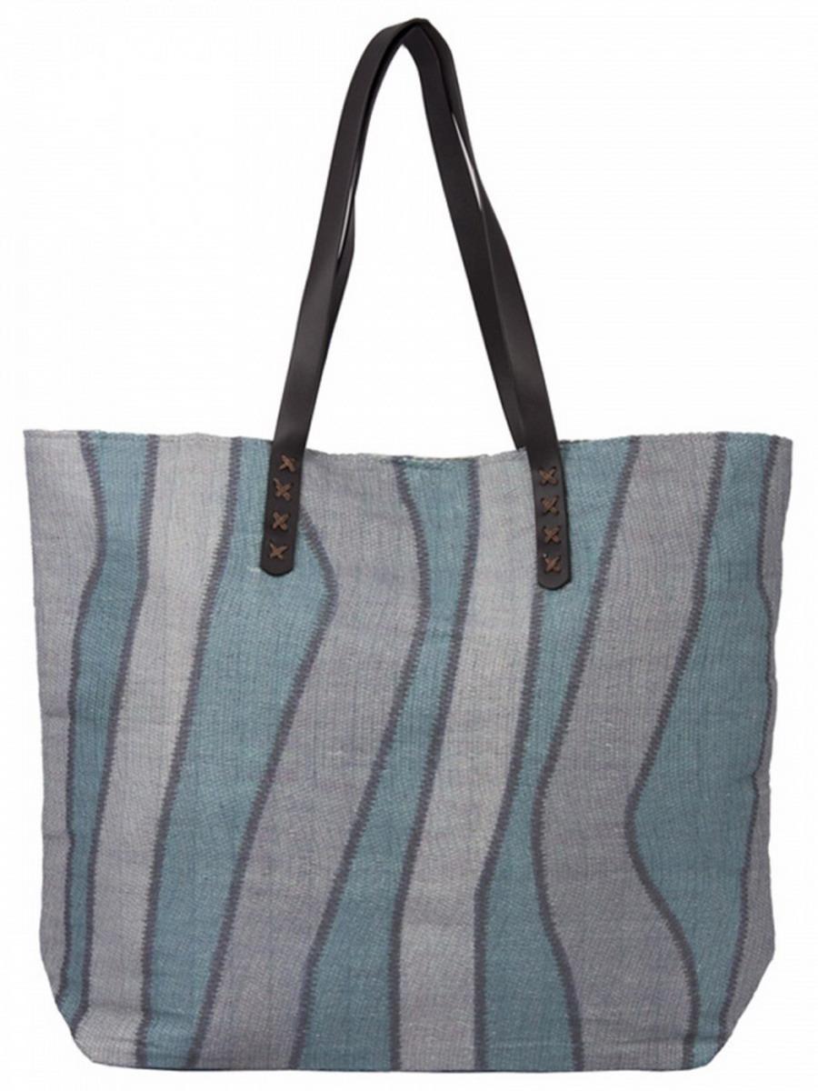 Сумка женская Venera, цвет: голубой, серый, коричневый. 1202156-1L39845800Симпатичная сумка Venera серо-голубого цвета изготовлена из полиэстера - прочного материала, не пропускающего влагу. Сумка - это важнейшая часть женского гардероба. Она является как модным аксессуаром, так и удобным, вместительным изделием для необходимых вещей.