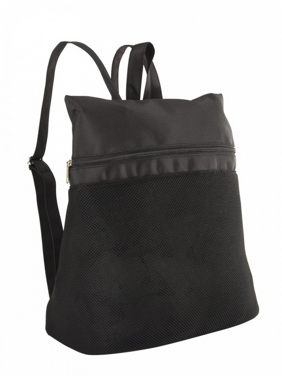 Рюкзак женский Venera, цвет: черный. 1202356-1ML597BUL/DСтильная сумка - рюкзак Venera черного цвета, размером 35х38х17 см изготовлена из полиэстера - прочного материала, не пропускающего влагу. Сумка выполнена в виде рюкзака, легко и удобно носить. Сумка - это важнейшая часть женского гардероба. Она является как модным аксессуаром, так и удобным, вместительным изделием для необходимых вещей.