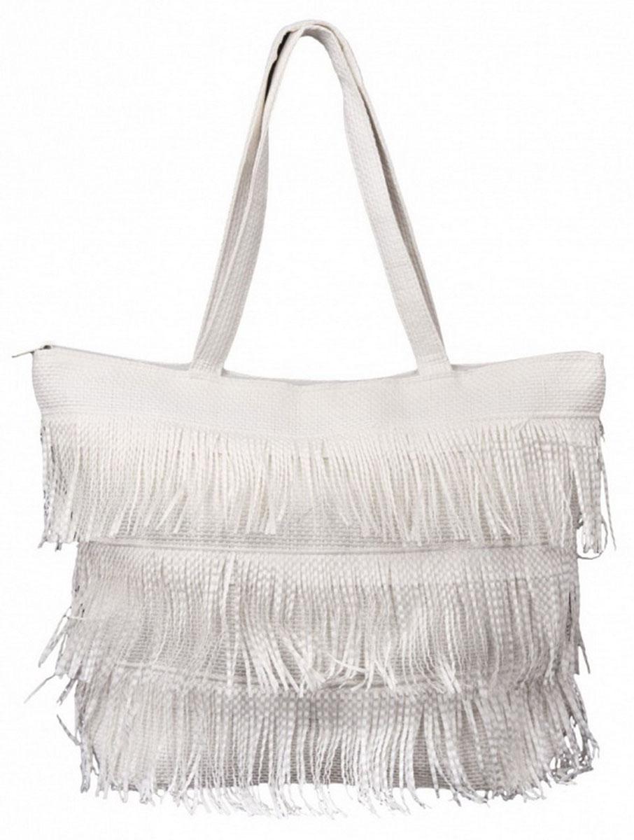 Сумка женская Venera, цвет: белый. 1202556-1BM8434-58AEВеликолепная сумка Venera белого цвета, размером 35х47х13см. Изготовлена из полиэстера прочного материала непропускающего влагу. Сумка это важнейшая часть женского гардероба, она является как модным аксессуаром так и удобным вместительным изделием для необходимых вещей.
