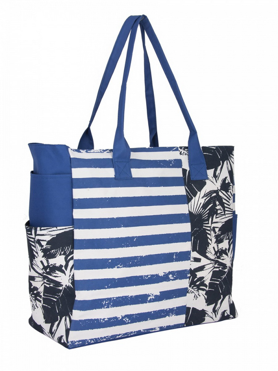 Сумка женская Venera, цвет: голубой, белый, синий. 1202756-271069с-2Прекрасная сумка Venera сине-белого цвета с оригинальным принтом, размером 40х43х18см. Изготовлена из полиэстера прочного материала непропускающего влагу. Сумка это важнейшая часть женского гардероба, она является как модным аксессуаром так и удобным вместительным изделием для необходимых вещей.