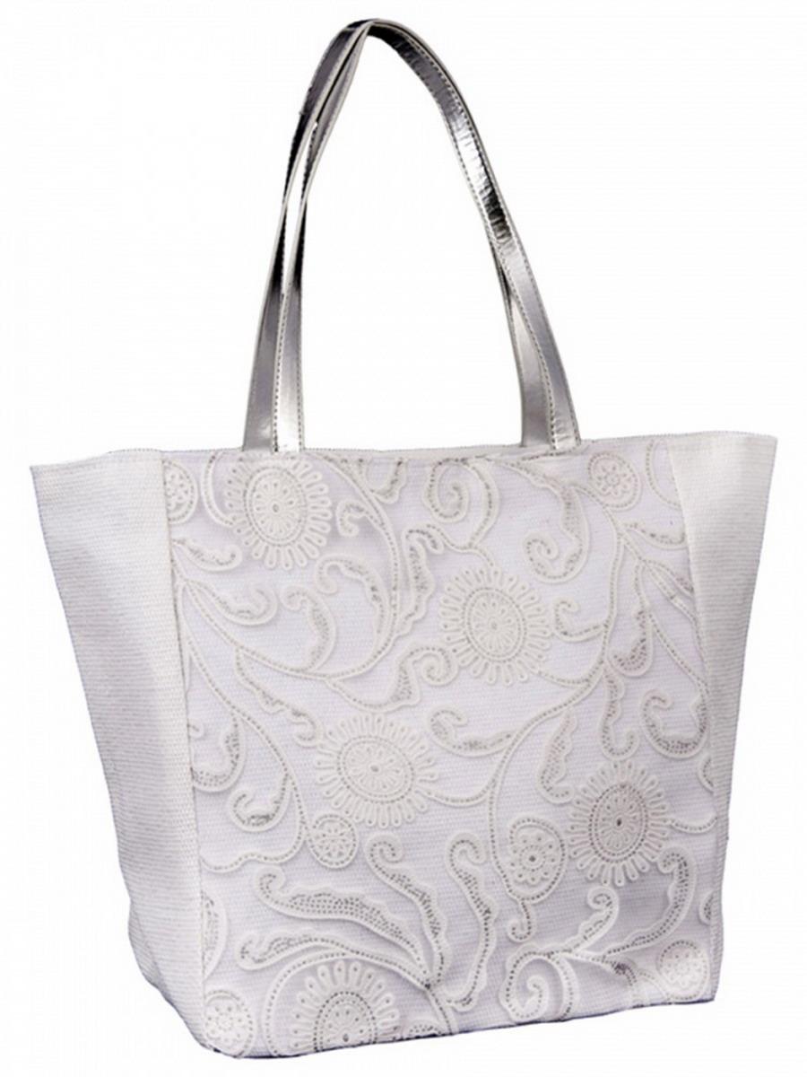 Сумка женская Venera, цвет: белый. 1202856-2BM8434-58AEВосхитительная сумка Venera белого цвета, размером 36х33х18см. Изготовлена из полиэстера прочного материала непропускающего влагу. Сумка это важнейшая часть женского гардероба, она является как модным аксессуаром так и удобным вместительным изделием для необходимых вещей.