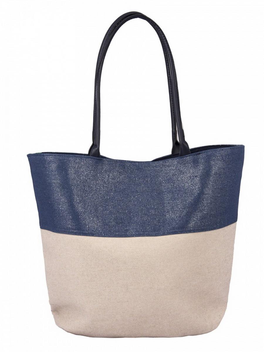 Сумка женская Venera, цвет: синий, молочный. 1203056-1BM8434-58AEКрасивая сумка Venera бело-синего цвета, размером 37х50х14см. Изготовлена из полиэстера прочного материала непропускающего влагу. Сумка это важнейшая часть женского гардероба, она является как модным аксессуаром так и удобным вместительным изделием для необходимых вещей.
