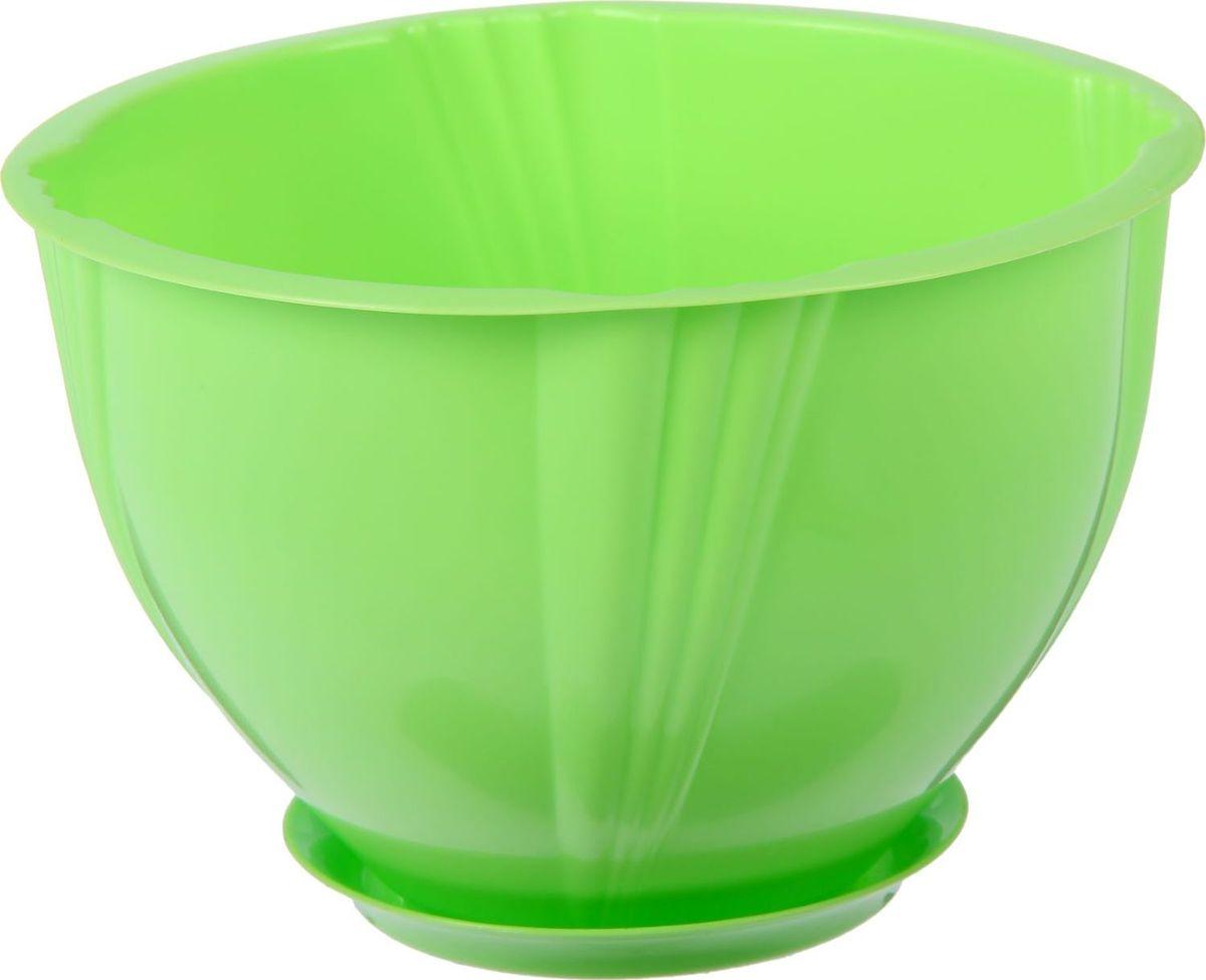 Кашпо Berossi Diana, с поддоном, цвет: зеленый, 1 лNLED-454-9W-WКашпо — это не просто ёмкость для выращивания комнатных растений, но и важный элемент декора.Посадите растение в Кашпо с поддоном 1 л Diana, цвет зеленый! Его интересная форма дополнит интерьер, а качественный материал будет радовать вас долгие годы. Пластик полностью безопасен и не вступает в реакцию с почвой и корнями растения. Помимо этого, горшокЛёгкий, что делает удобной его транспортировку и эксплуатацию.Практичный: можно использовать для большинства комнатных растений. Цельный — вам не потребуются дпоолнительные приспособления и элементы.