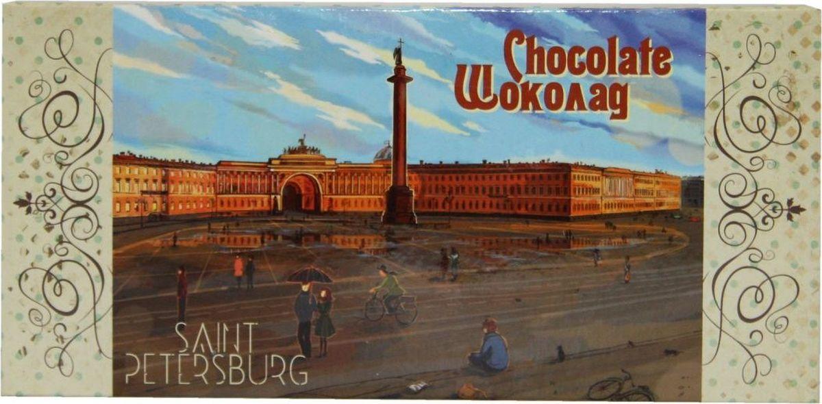 Petersburg Дворцовая площадь молочный шоколад, 100 г4665270161637Плитка шоколада