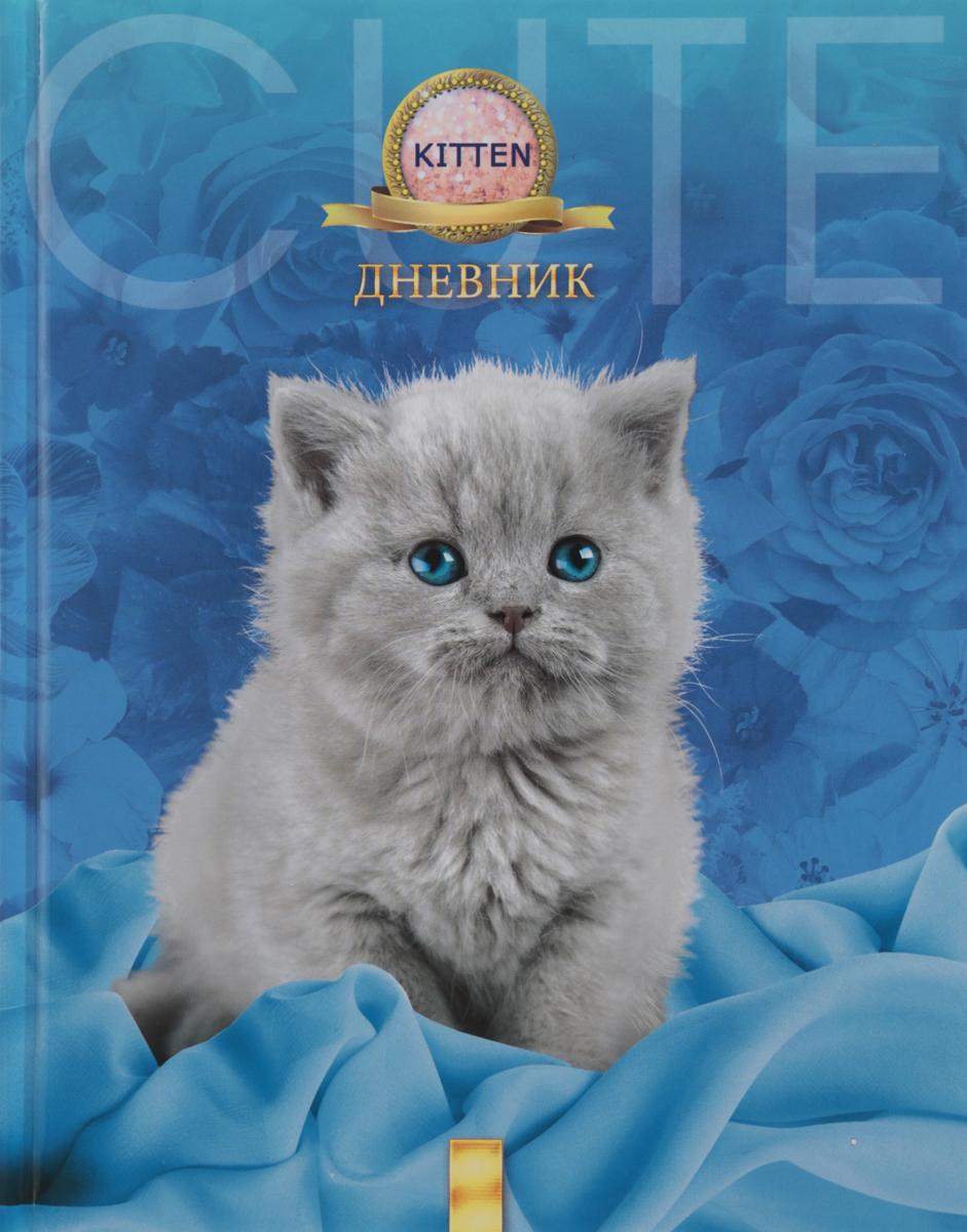 Апплика Дневник школьный для младших классов Серый котенок С0177-152