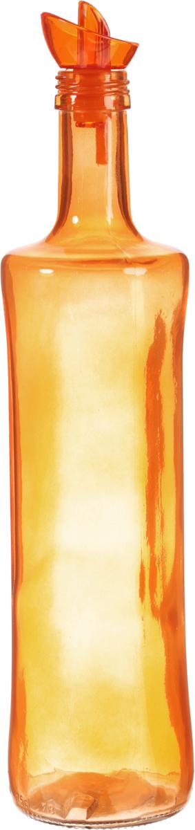 Емкость для масла Herevin, цвет оранжевый, 750 мл. 151158-00021395599Бутыль для масла 7,5*7,5*33 см